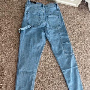 Fashion Nova Cargo Ankle Jean